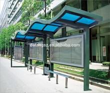 bus stop shelter for sale Ningbo Datang Model D-HC58