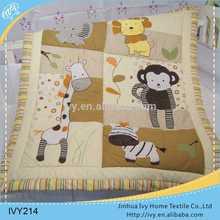 Brand new baby quilt hand applique bedsheet