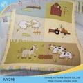 La costumbre de impresión floral edredones/cobijas baby ropa de cama edredones establece