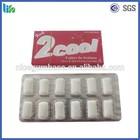 High quality customer design packaing similar wrigley chewing gum