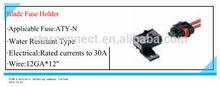 Universal blade type fuse holder