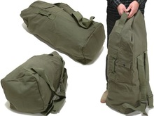 Rothco heavyduty top load canvas military duffle bag