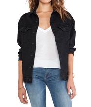 plain denim jacket