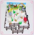 Baratos!!! Caliente la venta de los animales de granja juguetes para los niños de plástico colección animales de plástico modelos animales de granja de juguete