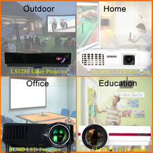Cheap Mini WiFi Projector / Smart Blu-ray 3D HD LED DLP Projector / Miracast Projector
