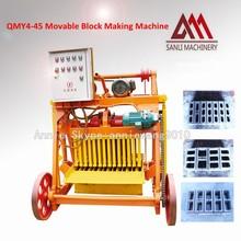 Small Heavy Building Machine QMY4-45 Brick Equipment From China