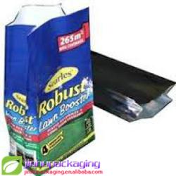 food grade packing blocked bottom printed paper coffee packaging bag