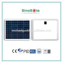 12v 25w solar panel with TUV/IEC61215/IEC61730/CEC/CE/PID