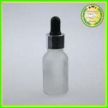 Stock now empty frost glass eliquid bottle 30ml 20ml 15ml
