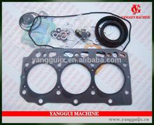 3D84-2 Cylinder Gasket Kit YM129322-01330 For Yanmar Forklift Engine 3D84
