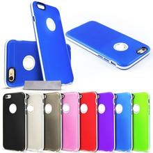 C1595 Hybrid Silicone Bumper Case For iPhone 6 plus5.5