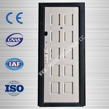 2014 New Design Security Steel Door with Glass,Best price