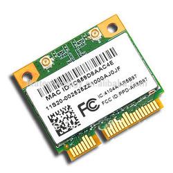 New ATHEROS AR9287 AR5B97 Wireless Adpter 802.11bgn 300Mbps Laptop Half Height Mini PCI-E wifi card