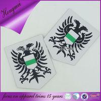 Eco-friendly direct facotry custom bag badge fashion designer