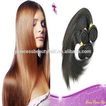 unprocessed intact virgin brazilian straight hair weaving human hair pony tails