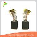 Motor de arranque ángulo de piezas de repuesto para herramientas cepillo de carbón