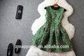 de estilo europeo el último diseño de moda flor vestido de la muchacha para 2015 hecho en shenzhen vestido