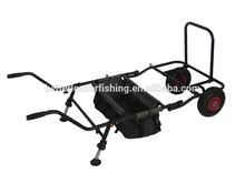 148*68*69cm 8kg cheap heavy duty platform trolley cart with bag