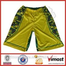 polyester mesh custom league basketball shorts