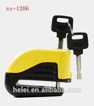 ZS-1206 new arrail motorcycle alarm disc brake lock