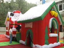 Hot Sale New Fashioned Christmas Decoration,inflatable Christmas House
