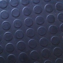 Easy Cleaning Round Dot Anti Slip Rubber Mat