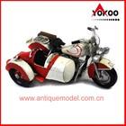 2014 whole sale handmade metal motorbike model for home decoration (JLM403S-RW)