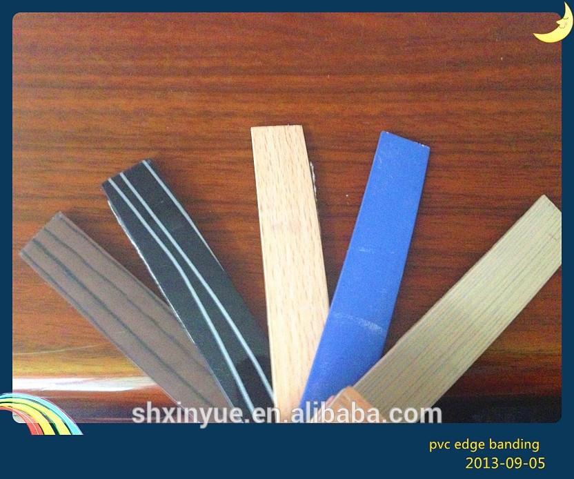 Plastic table edging trim pvc edge banding for furniture for Furniture t trim edging