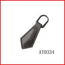 China matel zipple ring leather custom zipper pulls