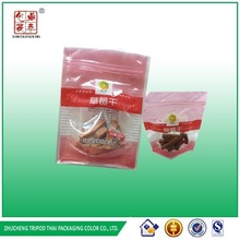 2014 Factory supplier Resealable Stand Up Pouches With Zipper Doypack For Food