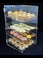 acrylic bakery display case 310X335X570mm food cabinet