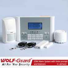 2014 Best Sale Security Solution with Mobile phone APP ! Burglarproof GSM alarm wireless for home intruder system