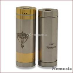 2014 hottest nemesis 26650 mod clone ecig mechanical mod nemesis mod and kayfun atomizer