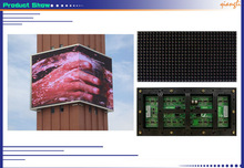 Alibaba Russian Outdoor P8 xxx video full color led video wall