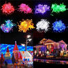 outdoor rubber cable led waterproof holiday light