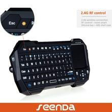 seenda 2.4 wireless keyboard mini touchpad keyboard with remote control function