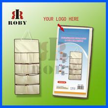 Wholesale bulk high quality non-woven wall hanging bag sundries storage bag