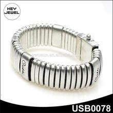 fashion chain alloy bracelet magnetic clasp USB0078