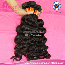 Mixed gray hair weave,hair split ends,natural wave peruvian hair