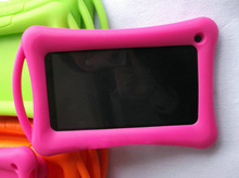 shock resistant silicon case for tablet 7 inch, cover case for hp slate 7 tablet , silicone cover case for hp slate 7 tablet