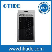 Alibaba new product black metal bluetooth for ipad mini keyboard