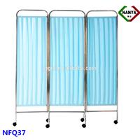 NFQ37 Cheap hospital ward folding screen room divider