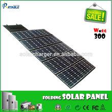 24% high efficiency Sunpower foldable solar panels 300w