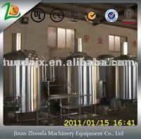 industrial mash 2000L craft beer brewing equipment