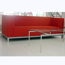 Office Lounge 1+2+3 leather classical sofa