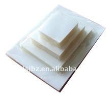 Soft pet/eva transparent plastic laminating pouch film