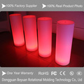 venta calienteinflable led luz pilar para la fiesta de boda apoyos