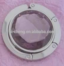 mini decorative pocket mirrors/Folding diamond decorative mirror brass