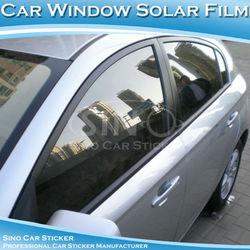 Automobiles Flexible Car Solar Window Film Black PVC Glass Film