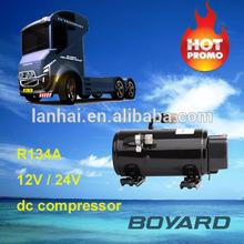 kits electric car R134a dc compressor 12v/72v/320v for dc 12v electric commecial bus car air conditioning